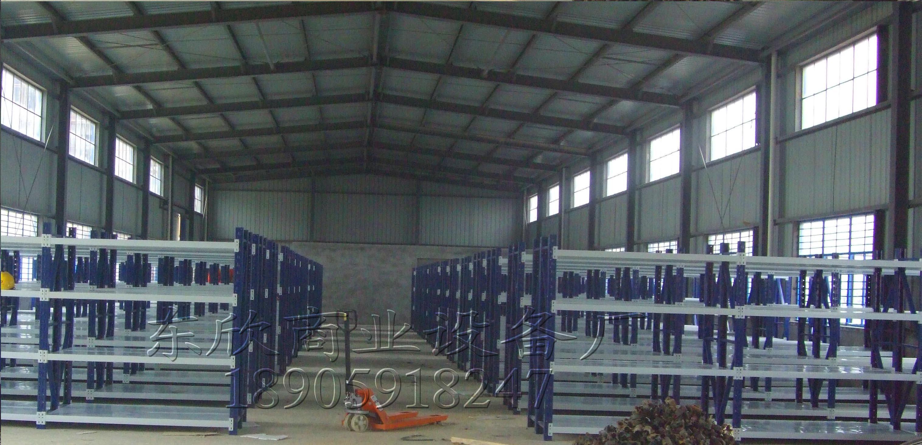 长乐电厂货架安装效果图